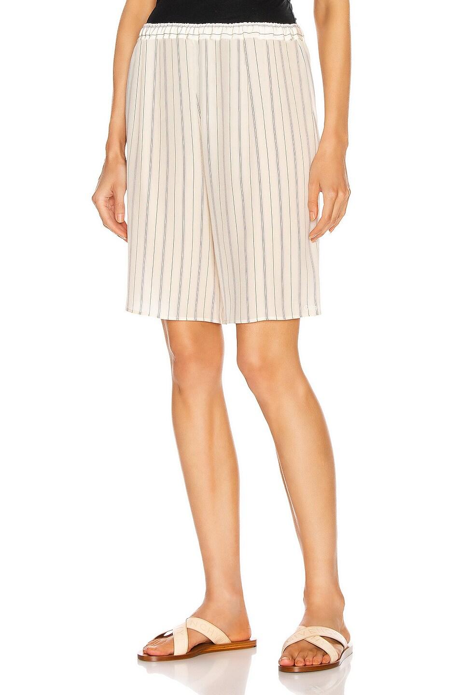 Image 1 of Chloe Stripe Short in Buttercream