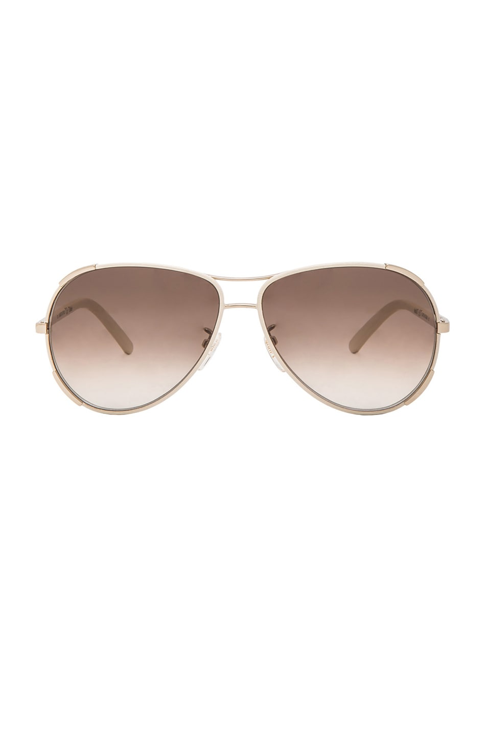 Image 1 of Chloe Nerine Sunglasses in Ivory & Gold