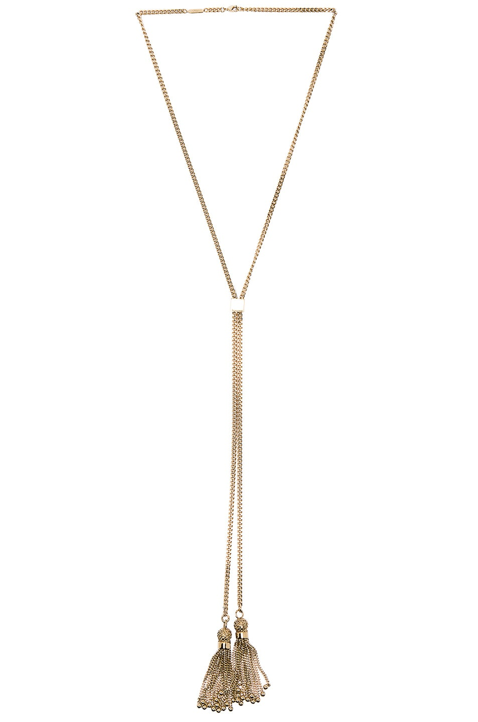 Image 1 of Chloe Monroe Long Necklace in Gold