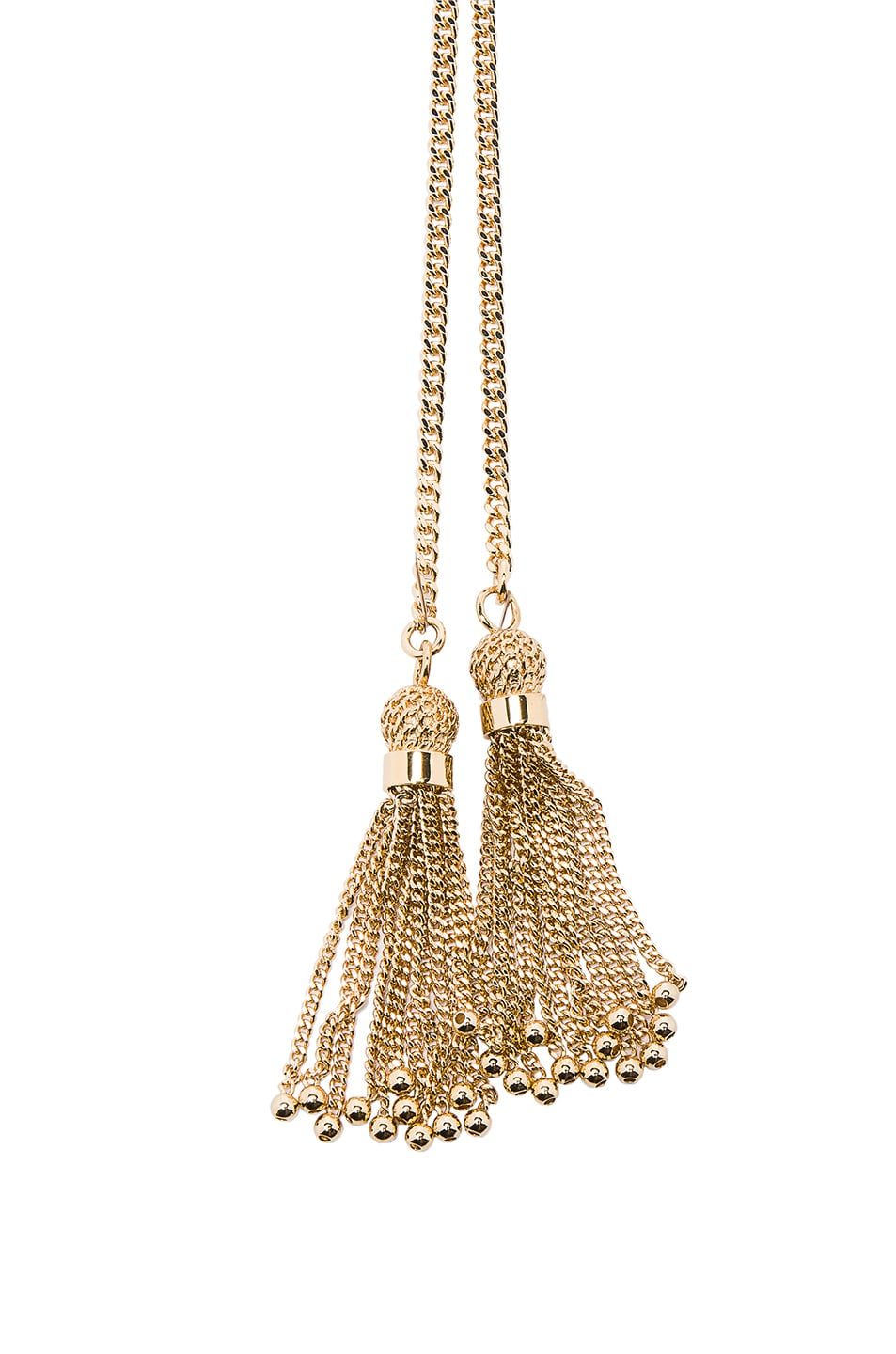 Image 2 of Chloe Monroe Long Necklace in Gold