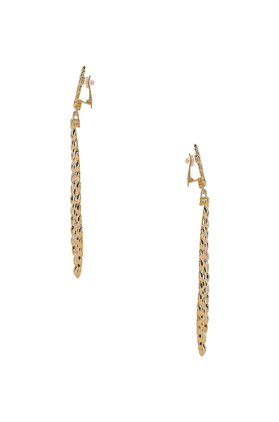 Image 3 of Chloe Statement Earrings in Gold
