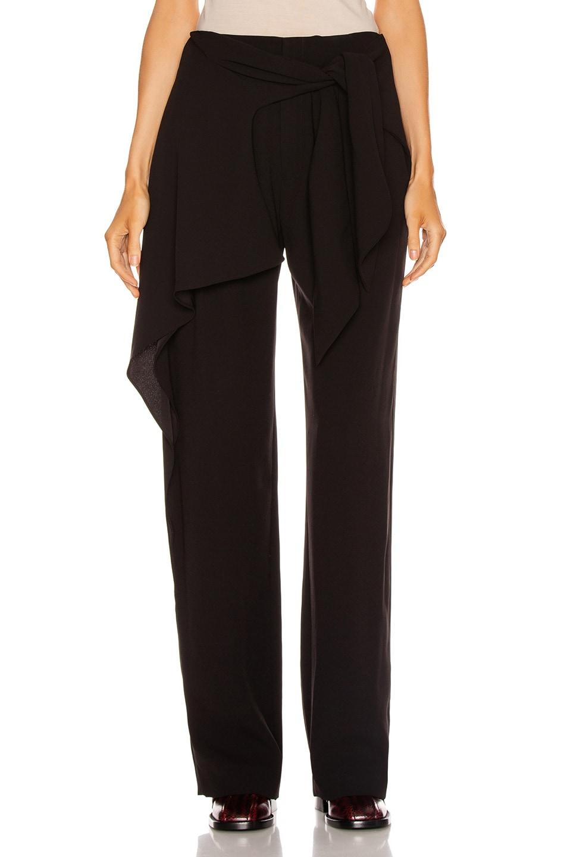 Image 1 of Chloe Tie Pant in Black