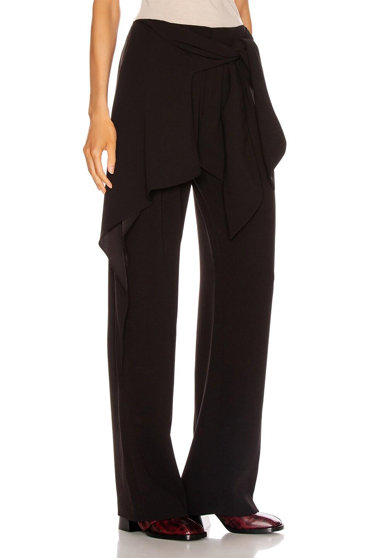Image 2 of Chloe Tie Pant in Black