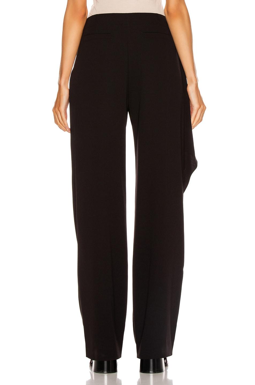 Image 4 of Chloe Tie Pant in Black