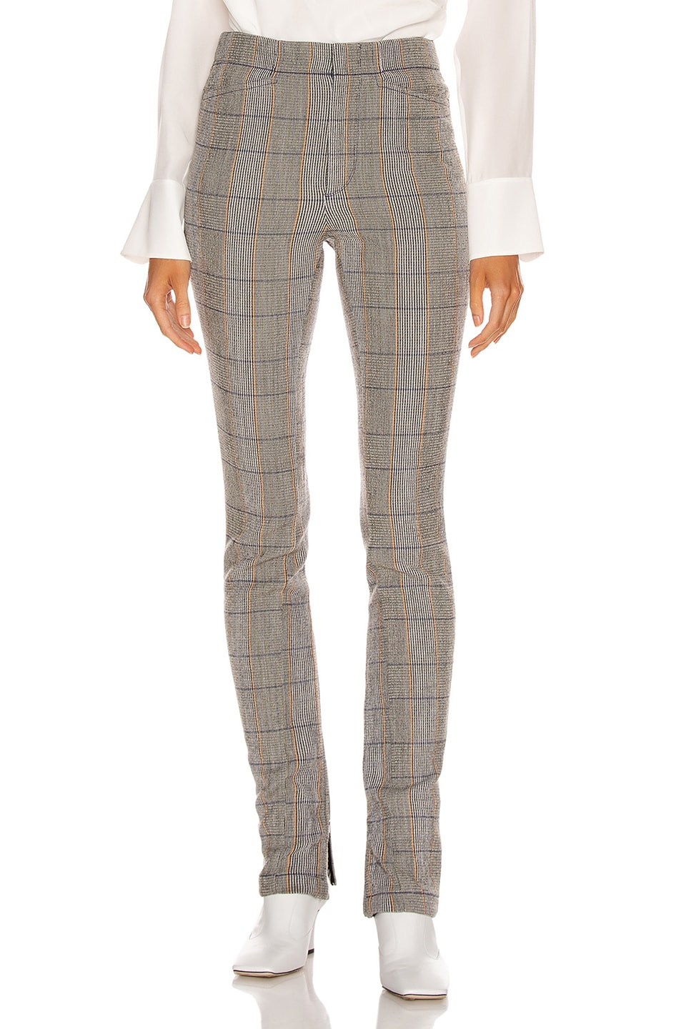 Image 1 of Chloe Tailored Pant in Boyish Khaki