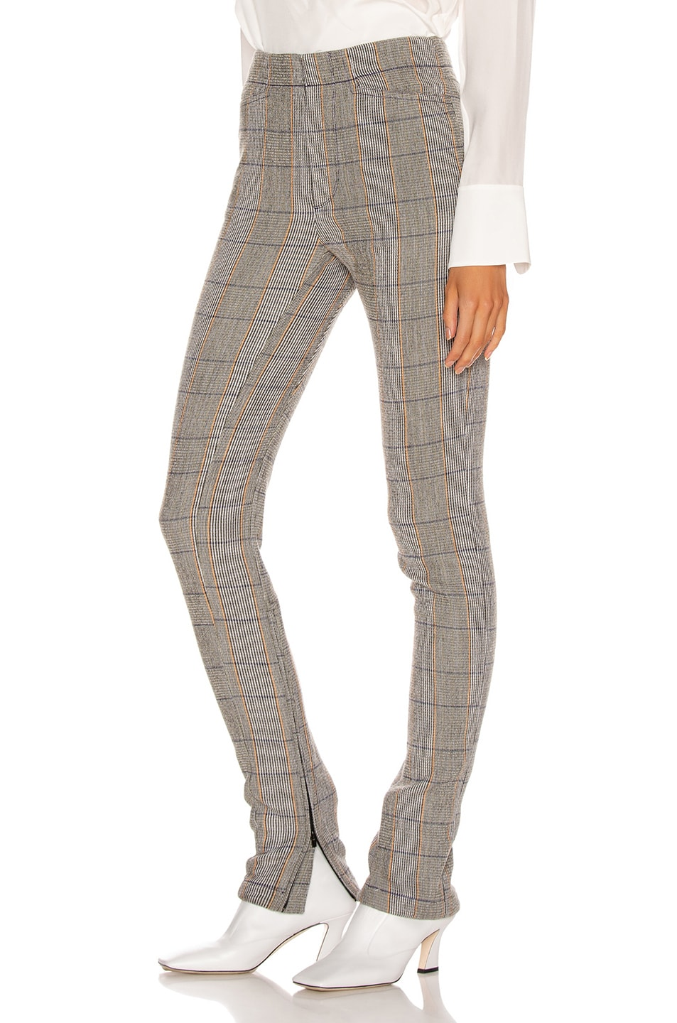 Image 3 of Chloe Tailored Pant in Boyish Khaki
