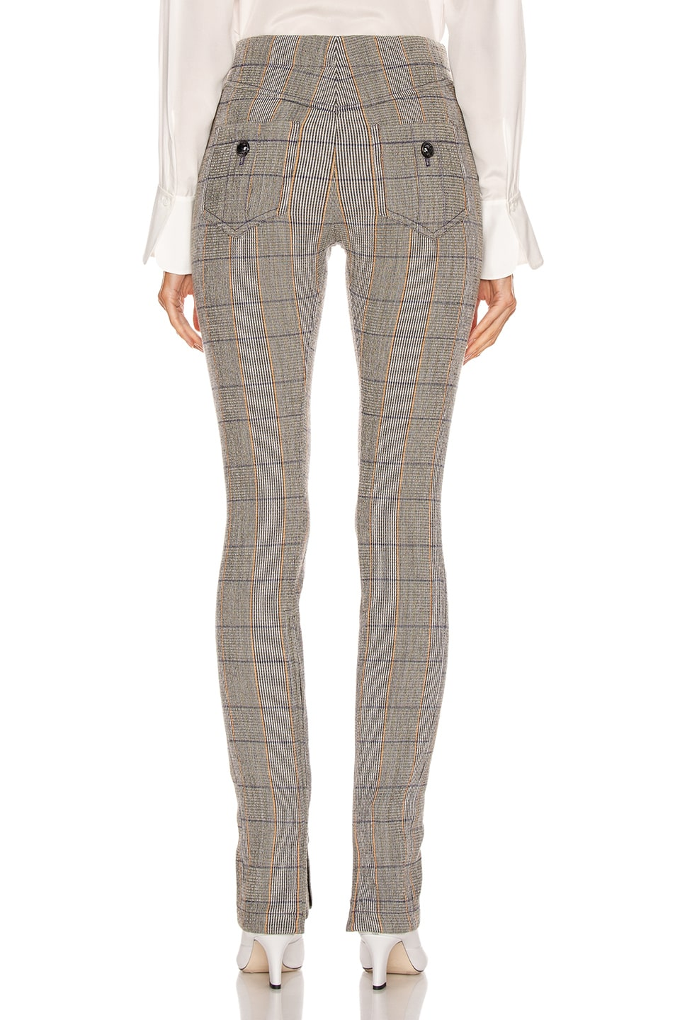 Image 4 of Chloe Tailored Pant in Boyish Khaki