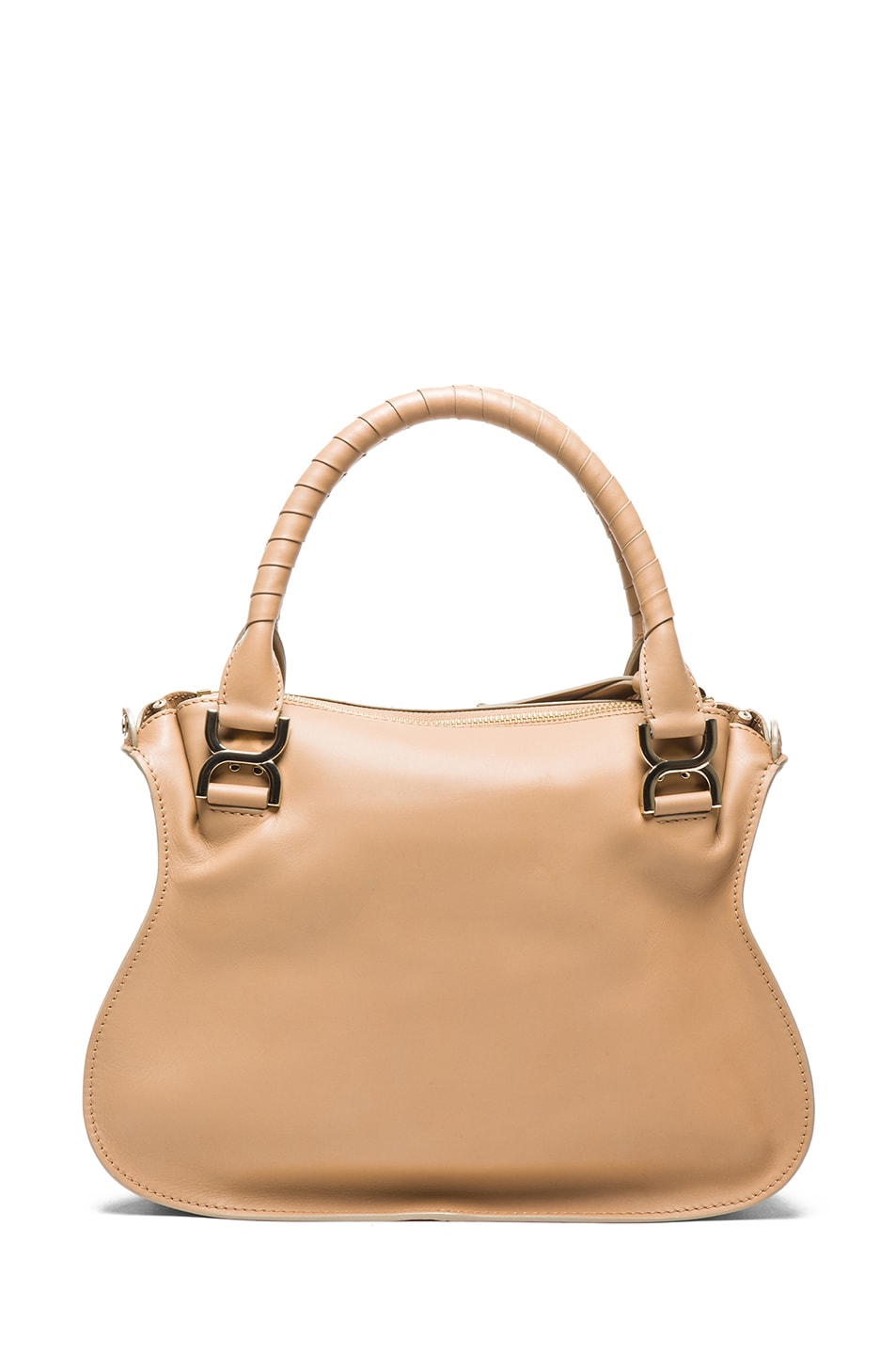 59414db91d594 Image 2 of Chloe Medium Marcie Shoulder Bag in Wet Sand