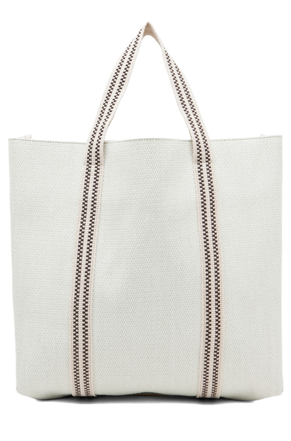 Chloe Borsa Beach Bag in Ivory | FWRD