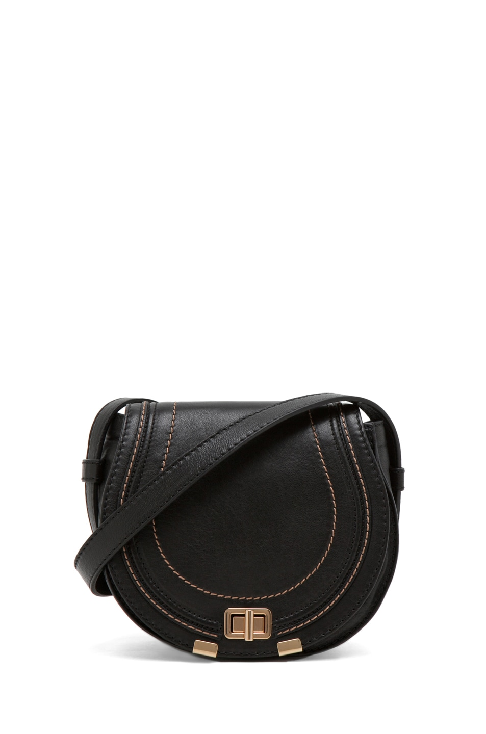 Image 1 of Chloe Marcie Round Small in Black
