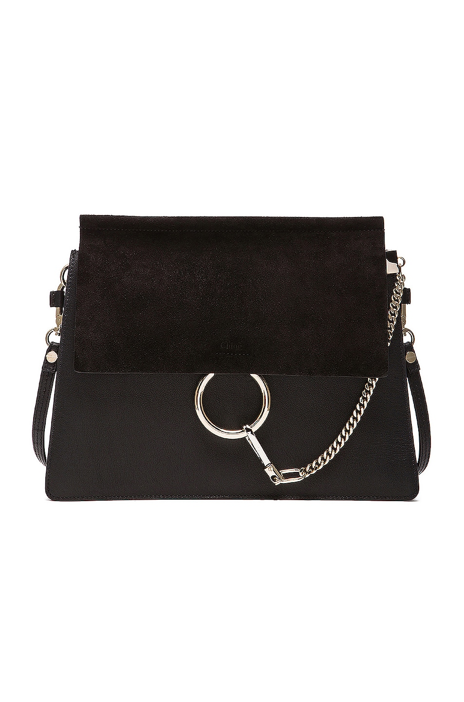 Image 1 of Chloe Medium Faye Bag in Black