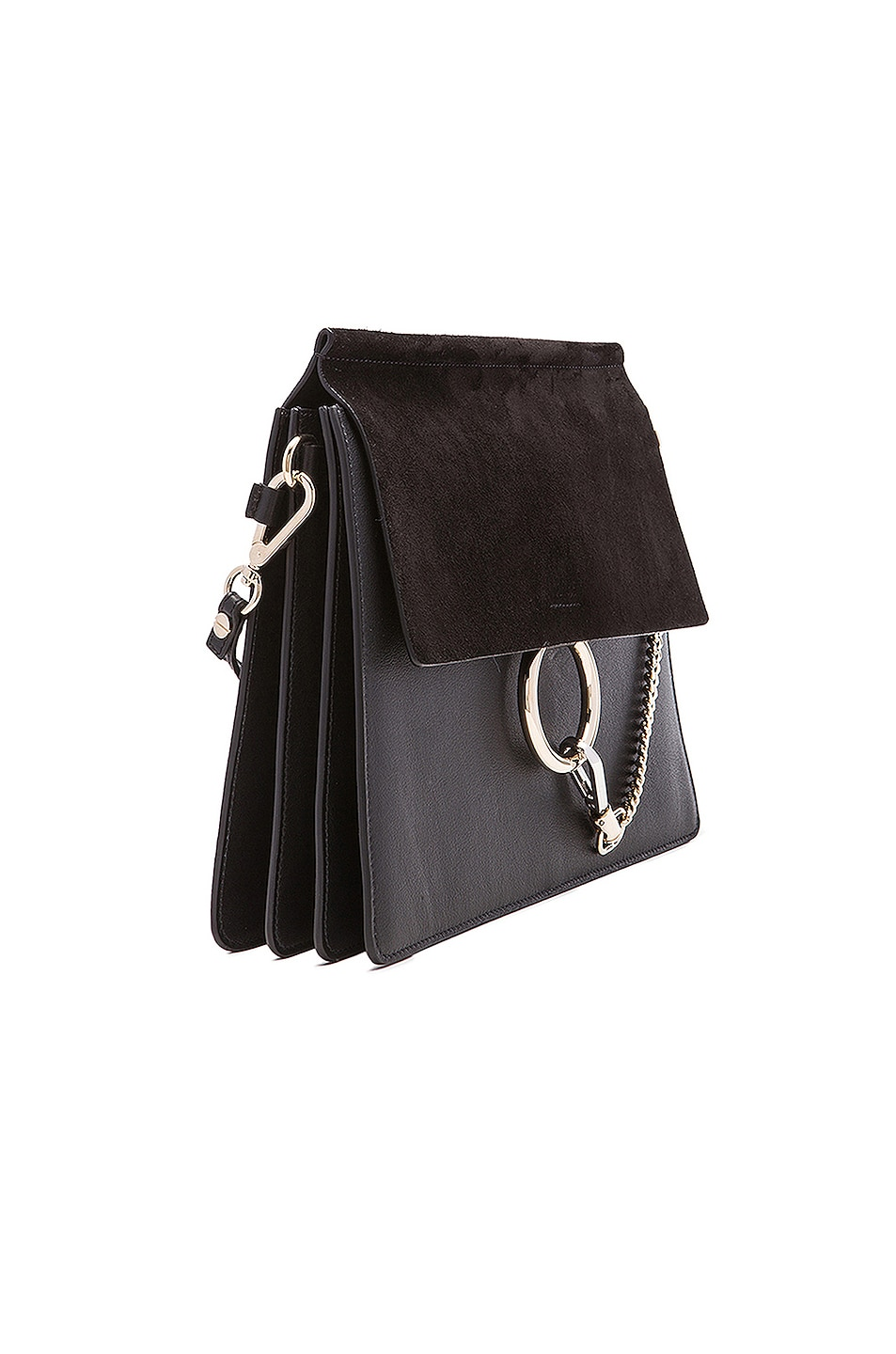 Image 4 of Chloe Medium Faye Bag in Black