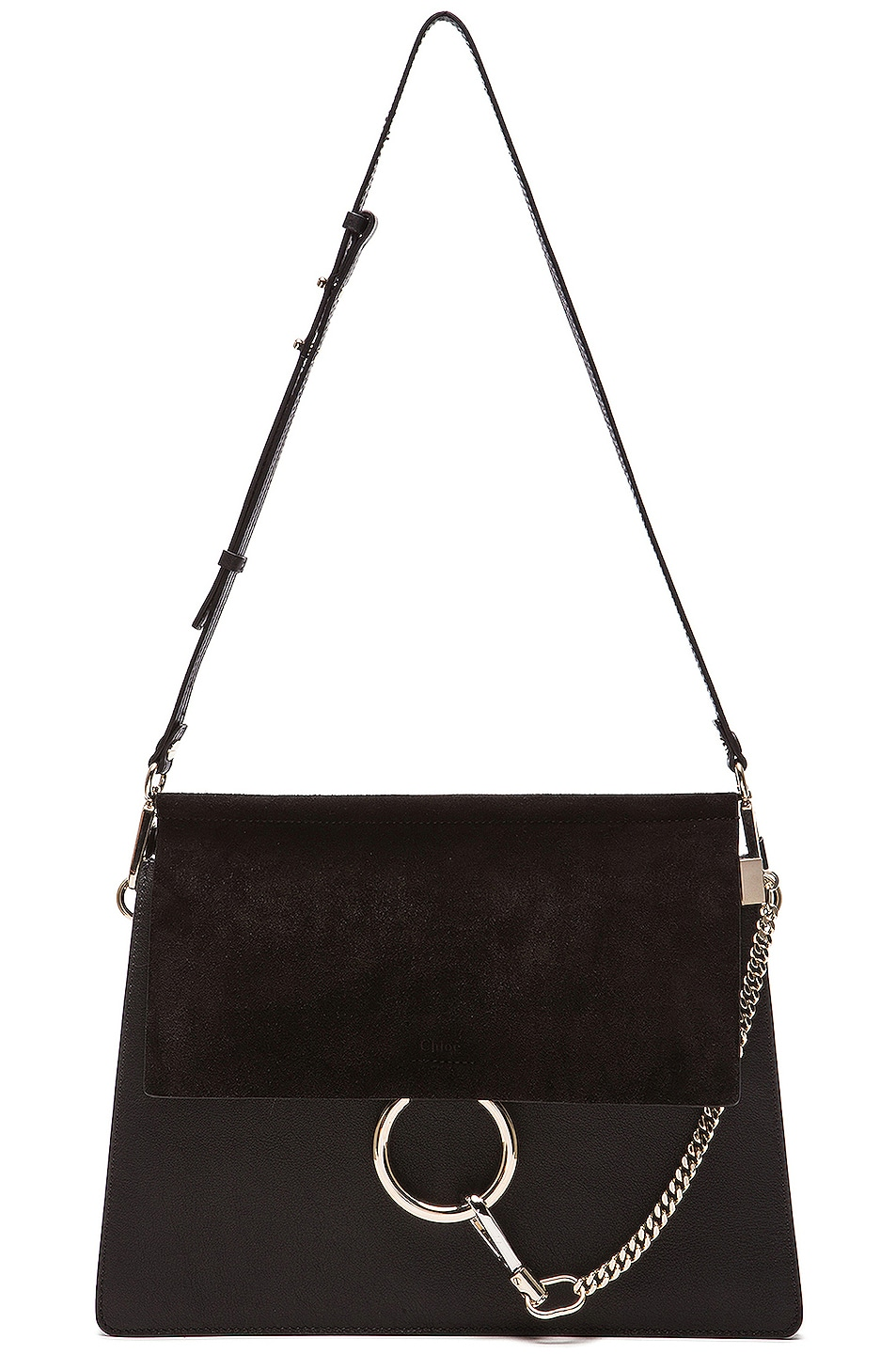 Image 6 of Chloe Medium Faye Bag in Black