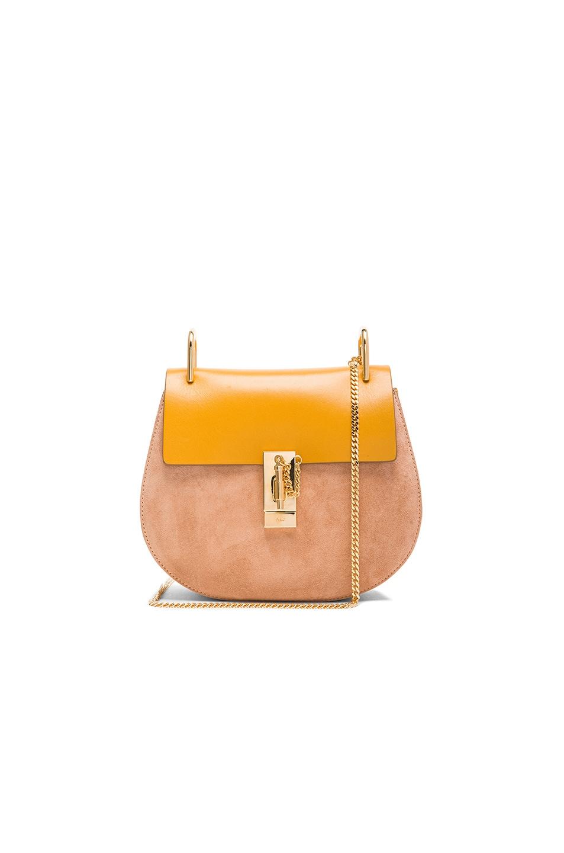 e05ed308e3763 Image 1 of Chloe Drew Medium Shoulder Bag in Curry Yellow