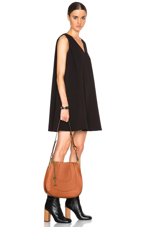 b2531c29 Chloe Small Hayley Leather Hobo in Tan | FWRD