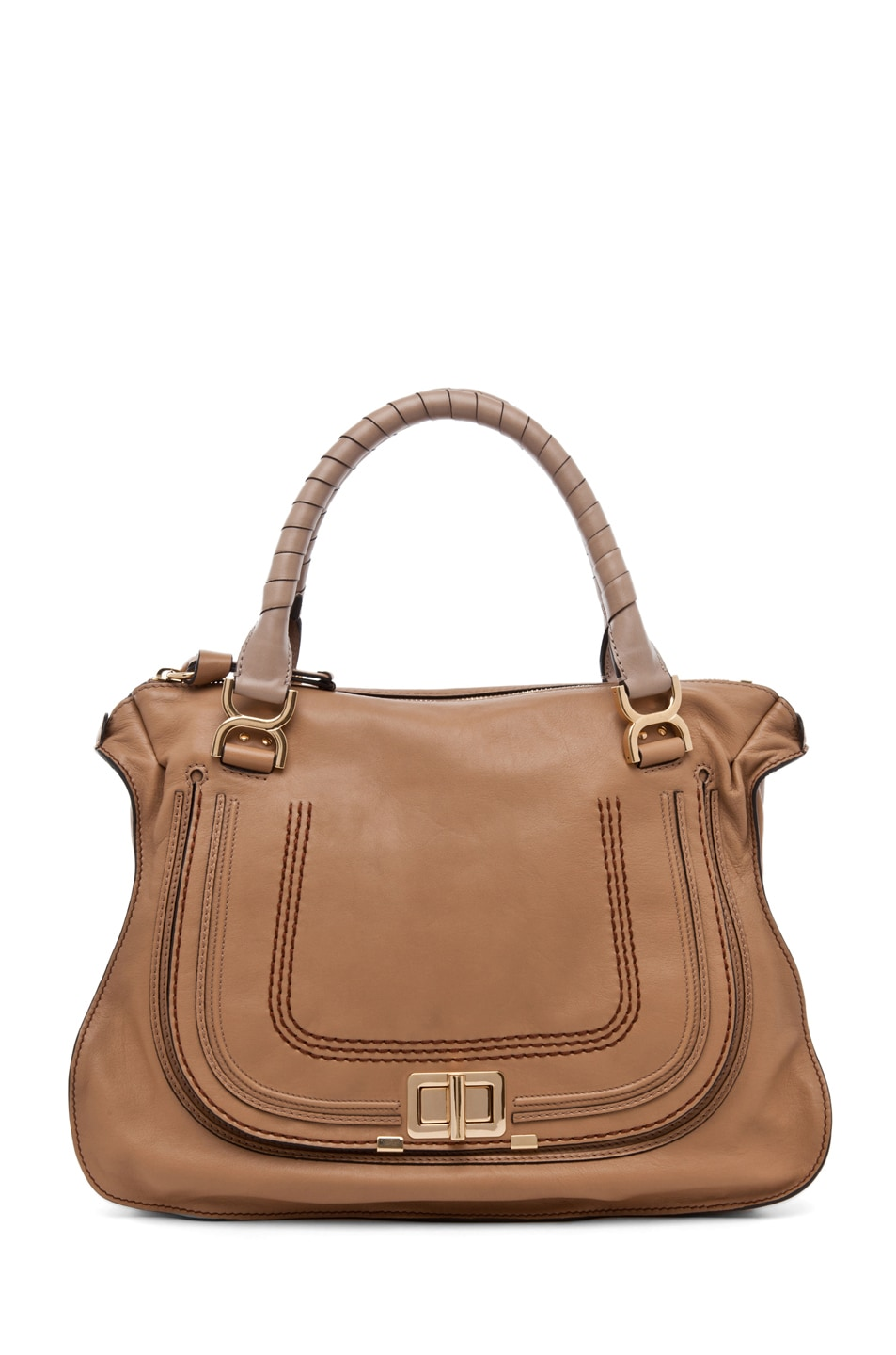 Image 1 of Chloe Large Marcie Satchel in Andalousia Land