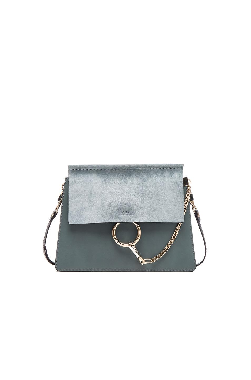 Image 1 of Chloe Medium Faye Bag in Cloudy Blue