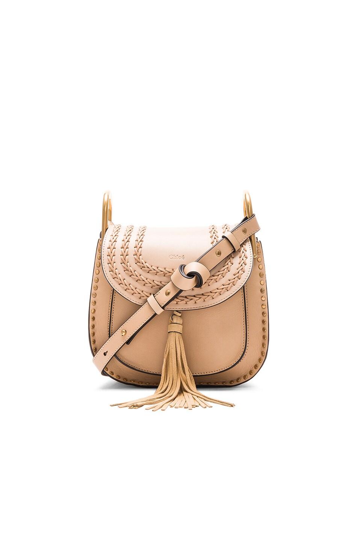 Image 1 of Chloe Small Hudson Bag in Pearl Beige