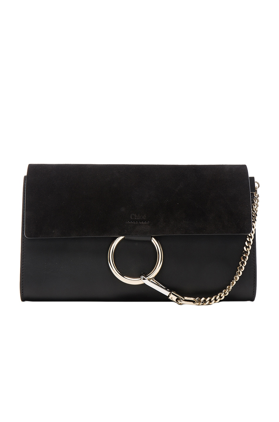 Image 1 of Chloe Faye Clutch in Black