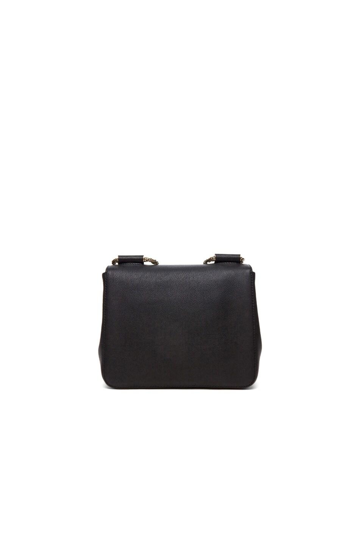 Image 3 of Chloe Small Elsie Shoulder Bag in Black