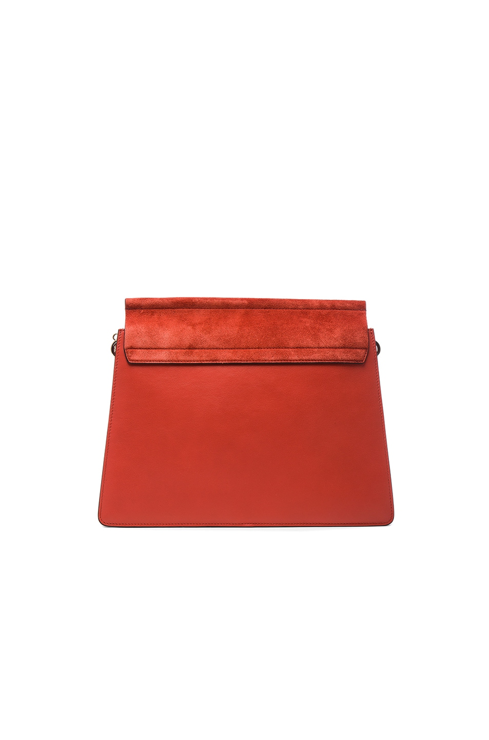 Image 2 of Chloe Medium Leather Faye Shoulder Bag in Sepia Red