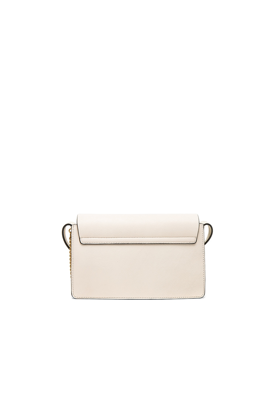 Image 2 of Chloe Small Leather Faye Bag in Off White