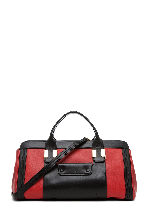 Image 1 of Chloe Alice Springs Medium Handbag in Holly Berry