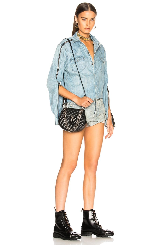 92b63e8291 Chloe Mini Drew Bijou Quilted Smooth Calfskin Shoulder Bag in Black ...
