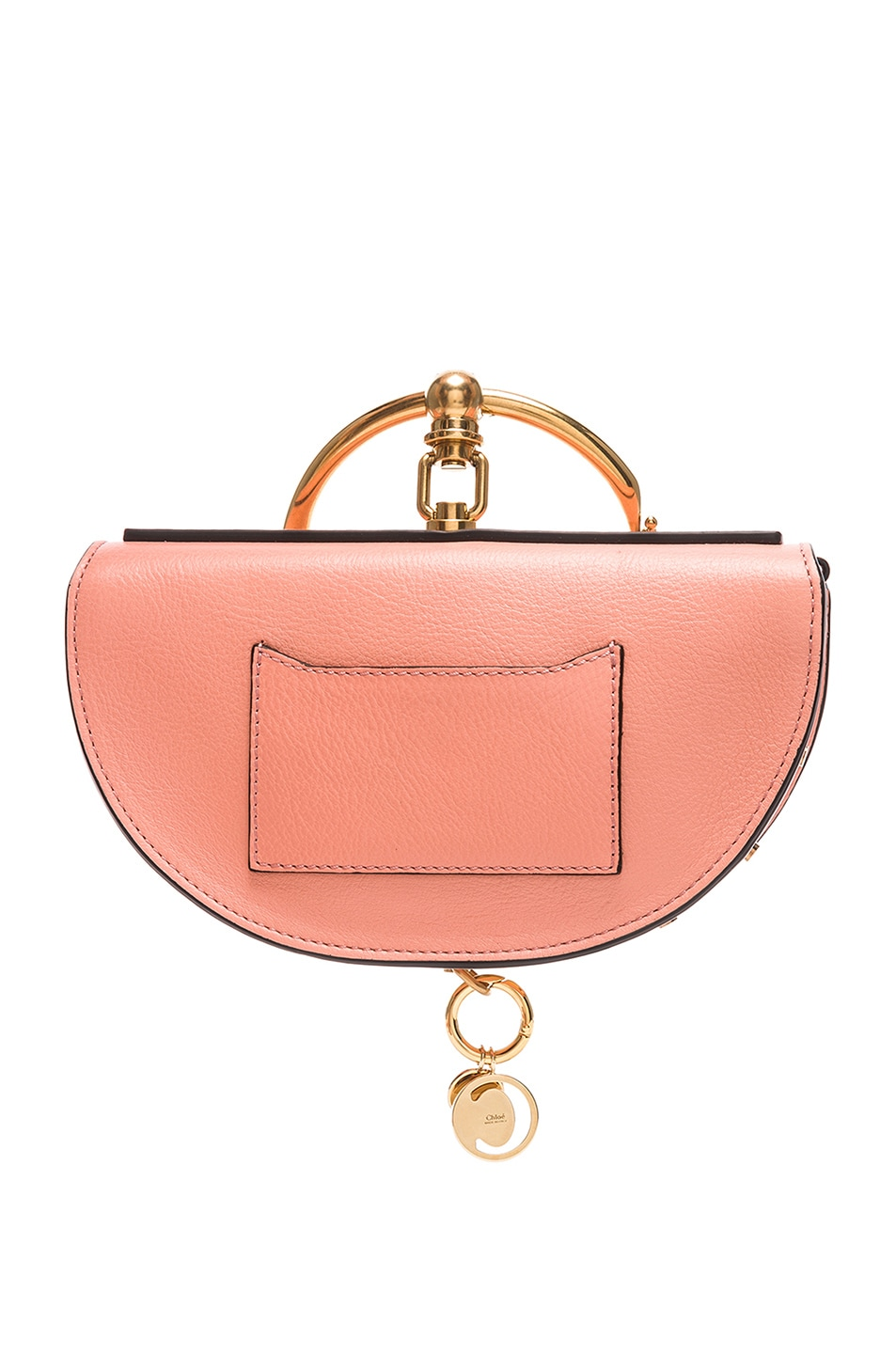 Image 3 of Chloe Small Nile Leather Minaudiere in Ideal Blush