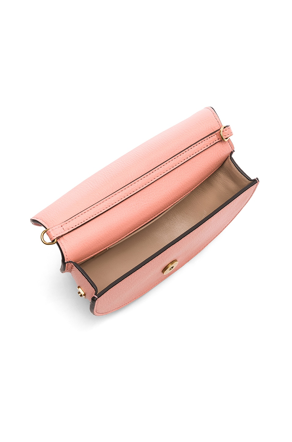 Image 5 of Chloe Small Nile Leather Minaudiere in Ideal Blush