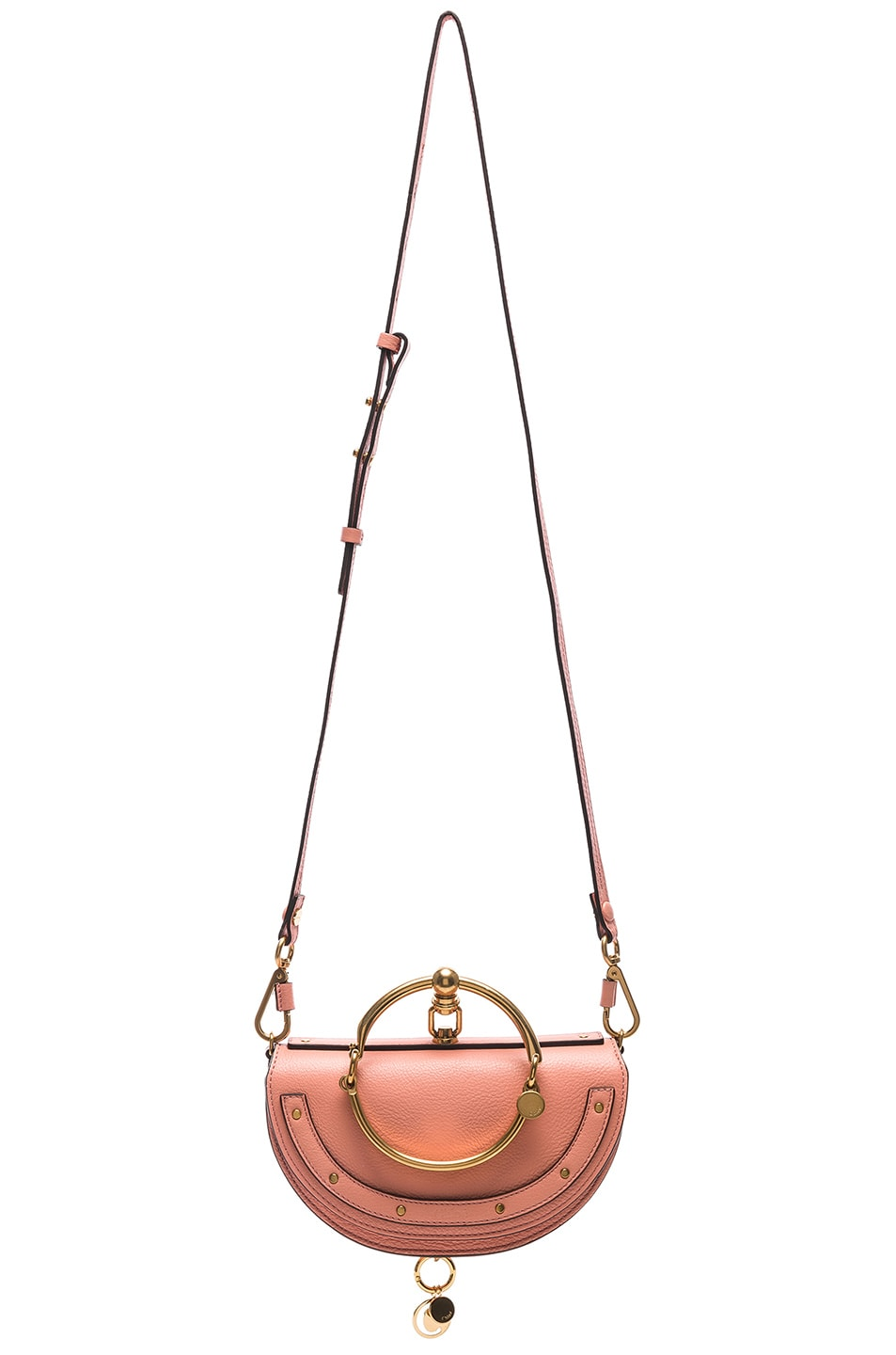 Image 6 of Chloe Small Nile Leather Minaudiere in Ideal Blush