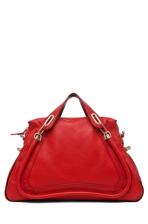 Image 1 of Chloe Paraty Handbag in Hollyberry