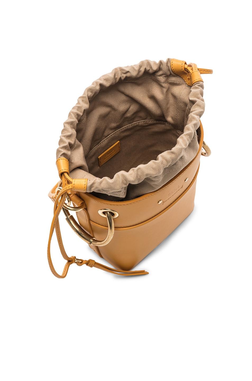 Image 5 of Chloe Small Roy Calfskin Bucket Bag in Burning Camel