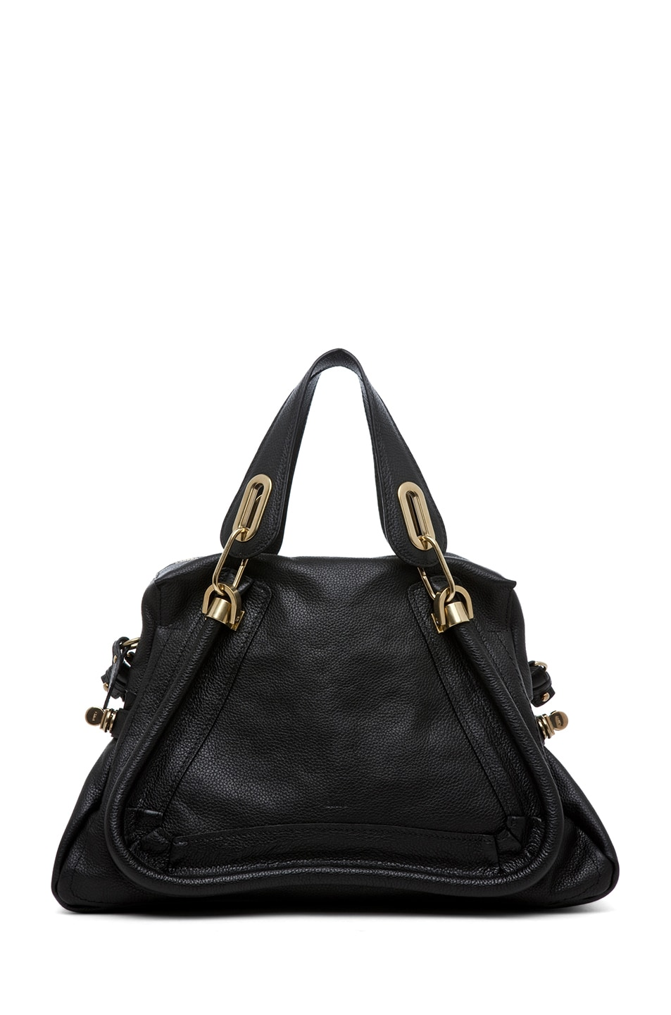 Image 1 of Chloe Paraty Medium Shoulder Bag in Black