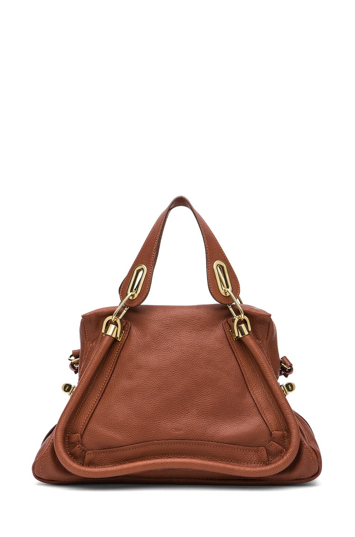 Image 1 of Chloe Paraty Medium Shoulder Bag in Brown Delight