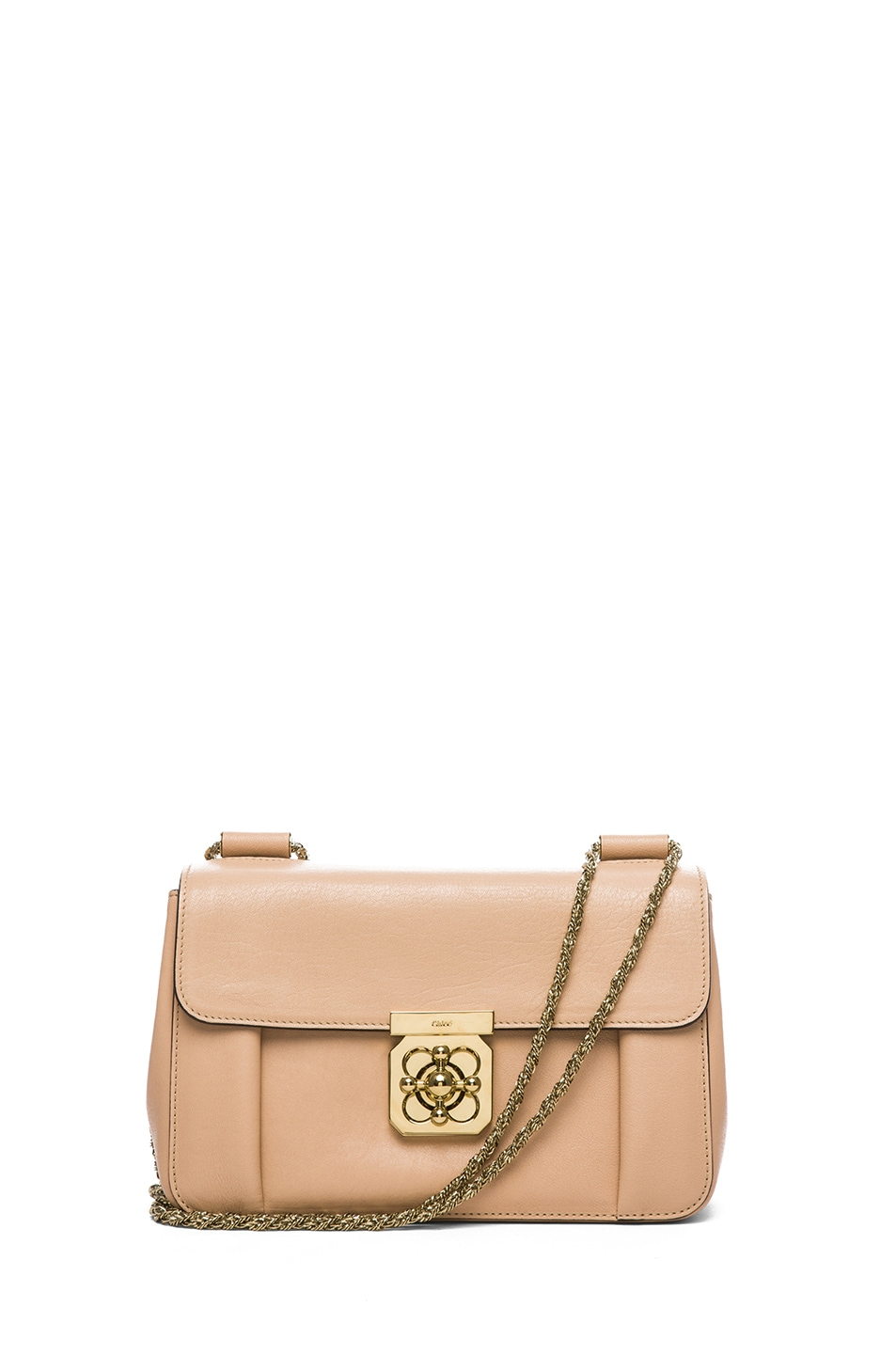 Chloe Medium Elsie Shoulder Bag in Biscotti Beige | FWRD