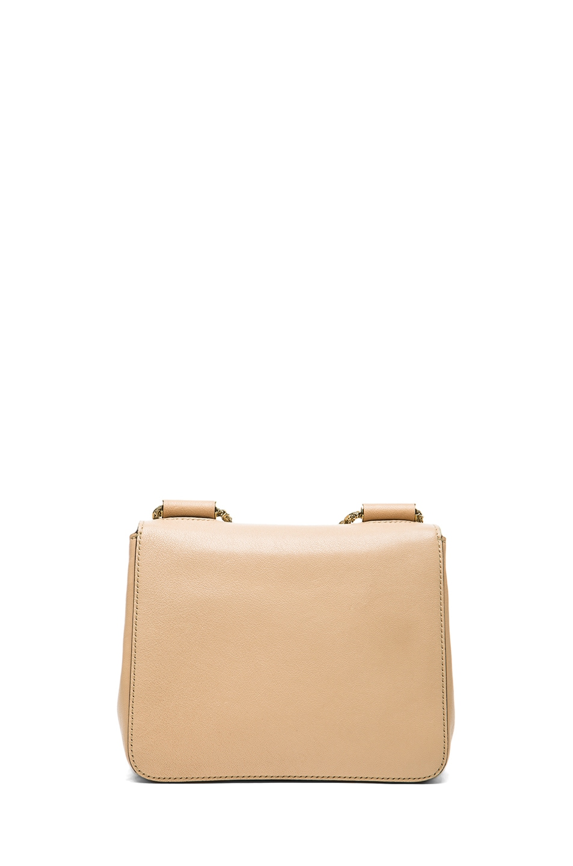 Image 2 of Chloe Small Elsie Shoulder Bag in Biscotti Beige