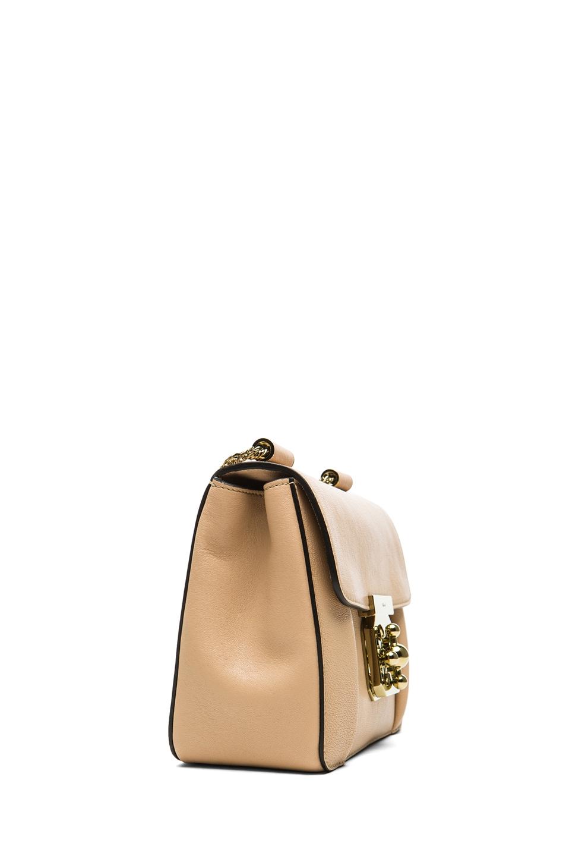 Image 3 of Chloe Small Elsie Shoulder Bag in Biscotti Beige