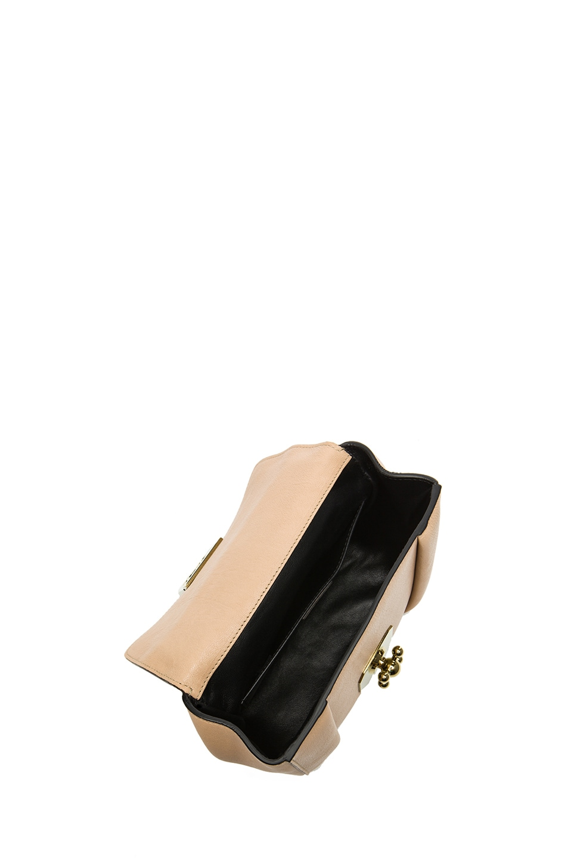 Image 4 of Chloe Small Elsie Shoulder Bag in Biscotti Beige