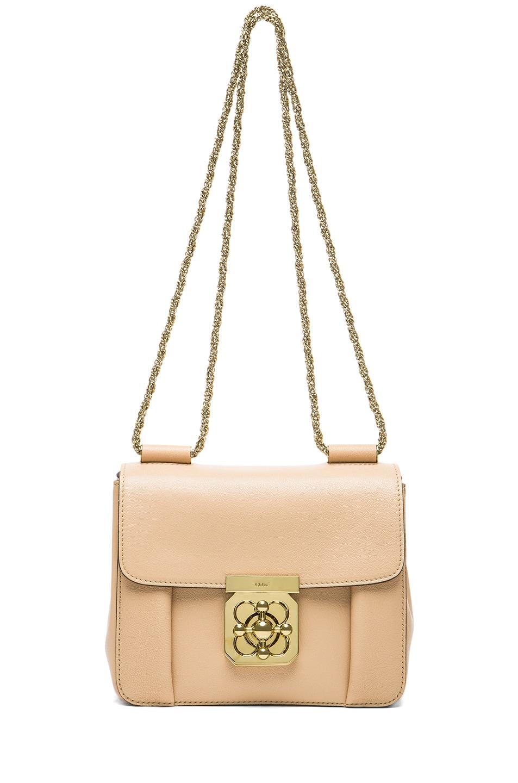 Image 5 of Chloe Small Elsie Shoulder Bag in Biscotti Beige