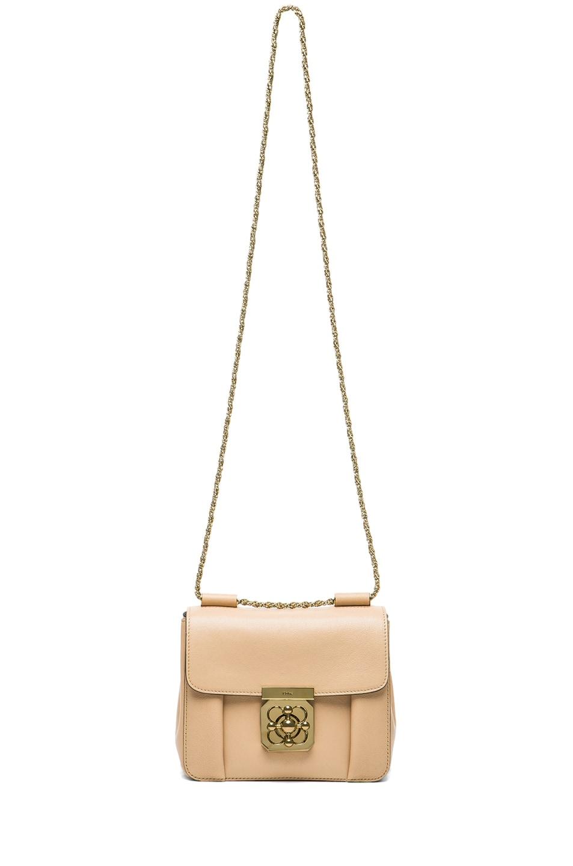 Image 6 of Chloe Small Elsie Shoulder Bag in Biscotti Beige
