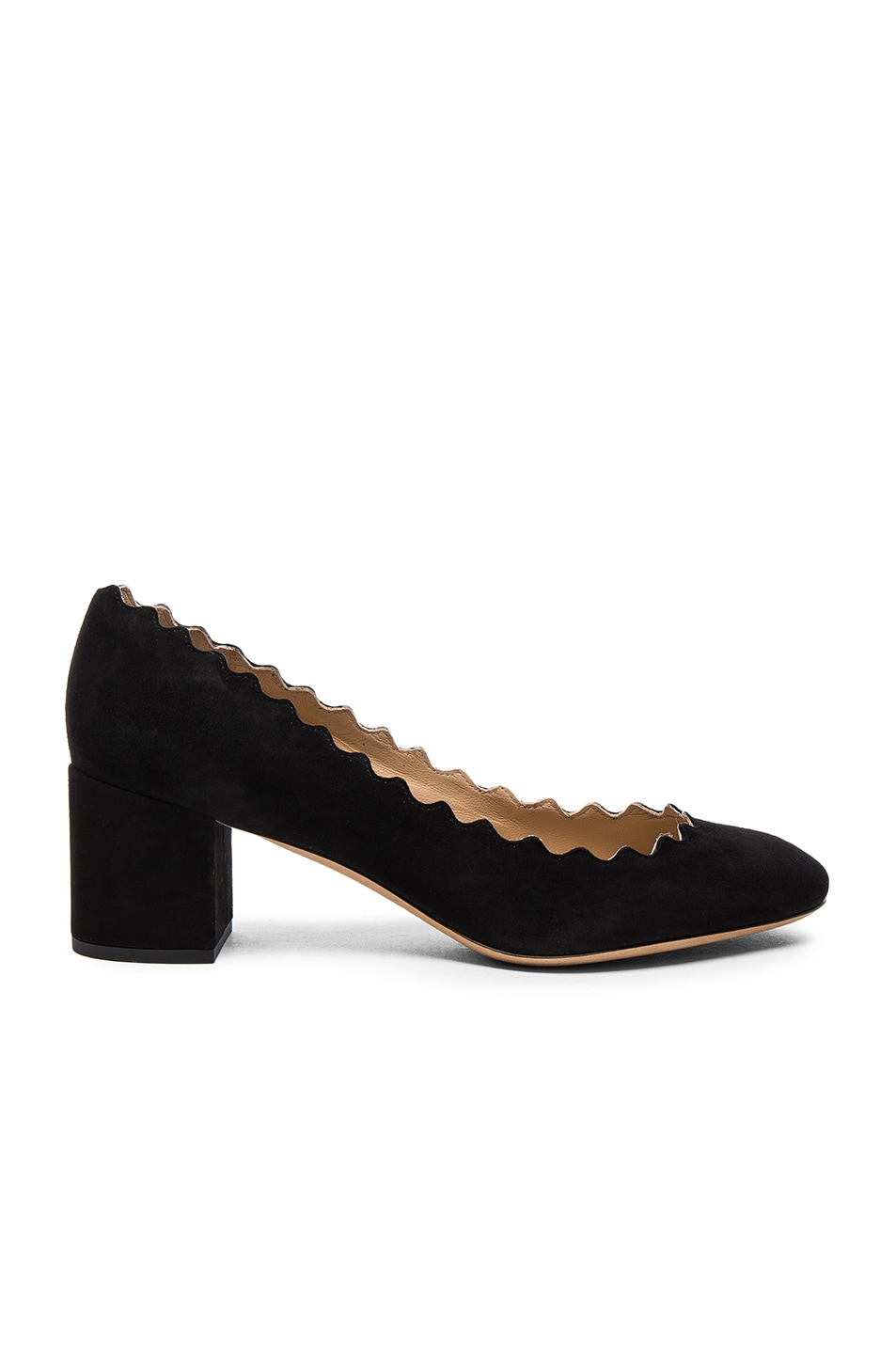 1a6b7b4e29e Image 1 of Chloe Lauren Suede Pumps in Black