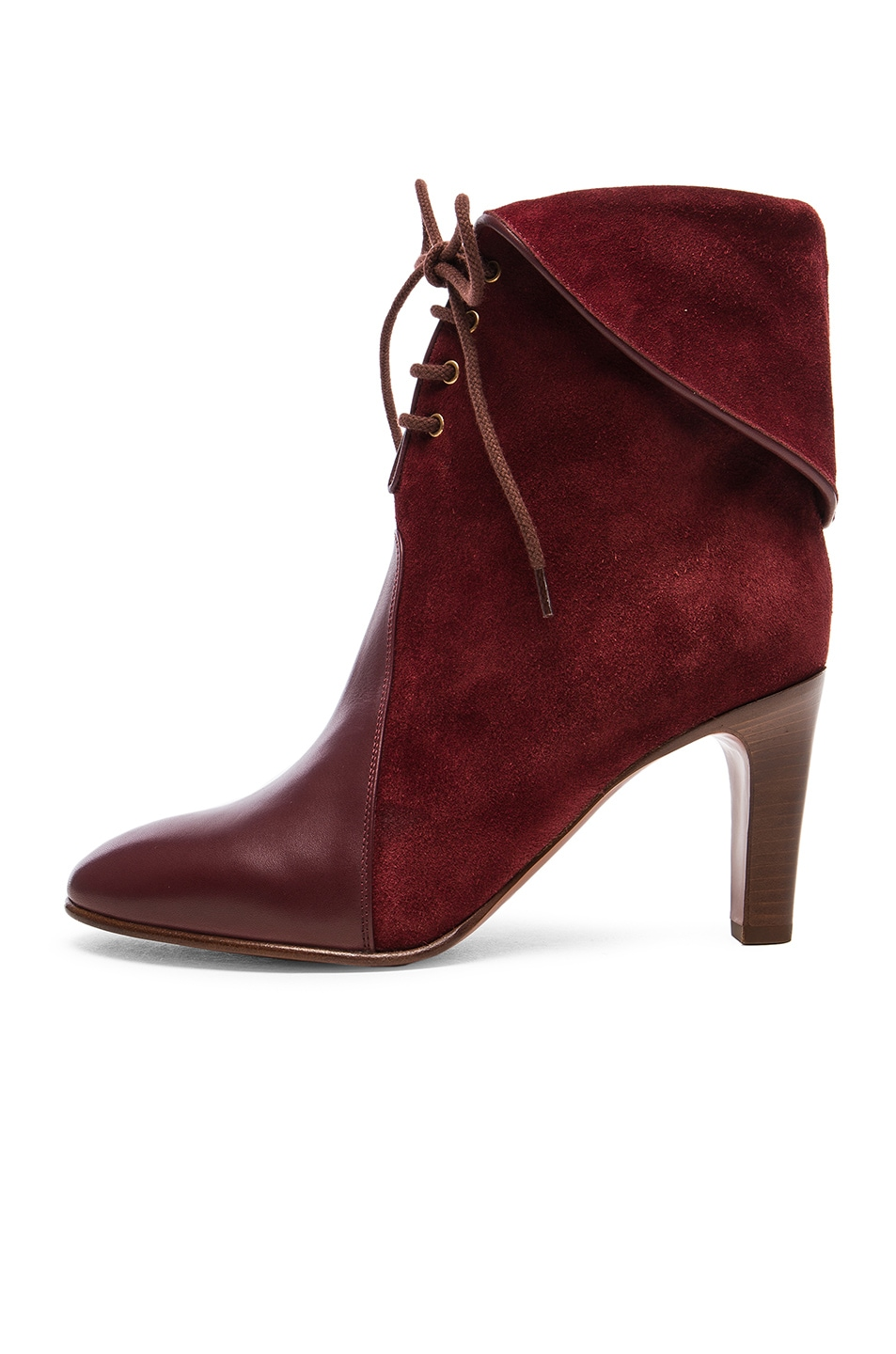Kole Lace-Up Leather boots Chloé Buy Cheap Discount Get Authentic Sale Online Wide Range Of Cheap Online Free Shipping Comfortable Cheap Discounts FNb4AZ