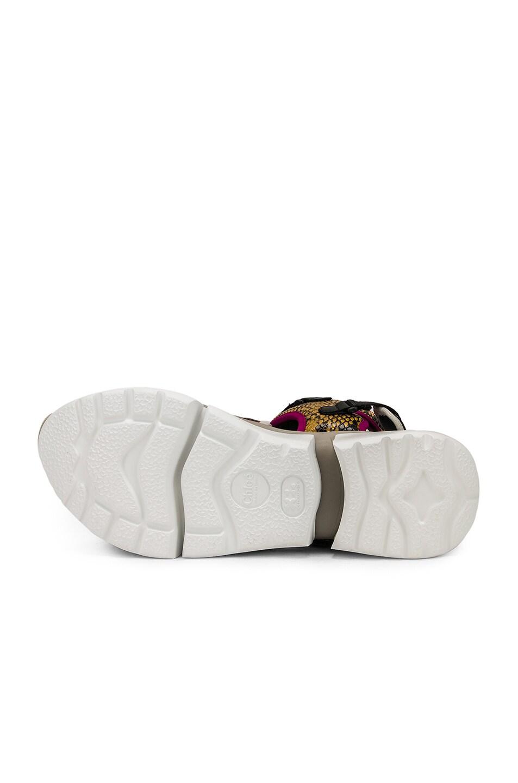 Image 6 of Chloe Platform Sandals in September Sun