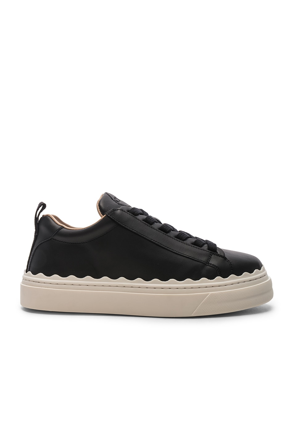 Image 1 of Chloe Low Top Sneakers in Black
