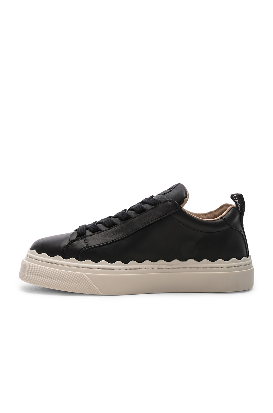 Image 5 of Chloe Low Top Sneakers in Black