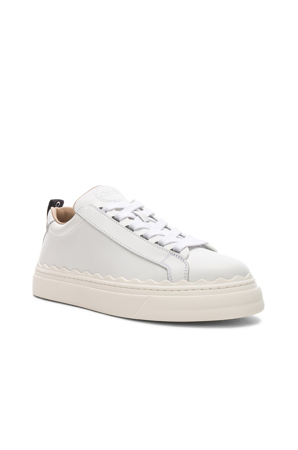 Image 2 of Chloe Low Top Sneakers in White