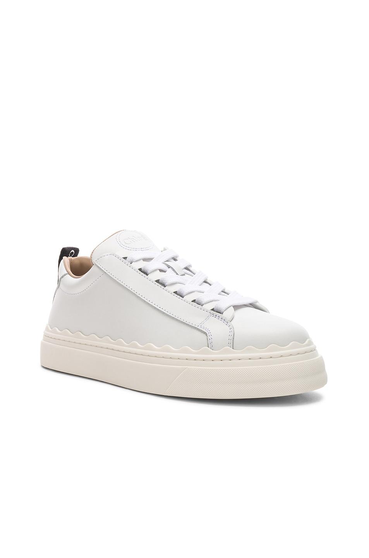 Image 2 of Chloe Lauren Low Top Sneakers in White