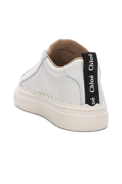 Image 3 of Chloe Lauren Low Top Sneakers in White