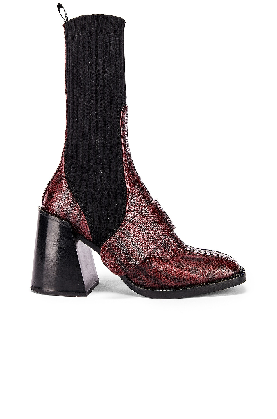 Image 1 of Chloe Bea Boots in Dahlia Red